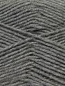 Fiber Content 50% Micro Acrylic, 50% Bamboo, Brand ICE, Grey, Yarn Thickness 3 Light  DK, Light, Worsted, fnt2-27233