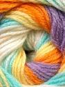 Fiber Content 100% Baby Acrylic, Yellow, White, Orange, Lilac, Light Green, Brand ICE, Yarn Thickness 2 Fine  Sport, Baby, fnt2-29611