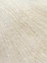 Fiber Content 70% Kid Mohair, 30% Polyamide, Off White, Brand ICE, Yarn Thickness 1 SuperFine  Sock, Fingering, Baby, fnt2-29775
