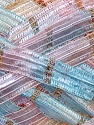 Fiber Content 90% Micro Fiber, 10% Metallic Lurex, Yellow, Salmon, Pink, Brand ICE, Blue, Yarn Thickness 6 SuperBulky  Bulky, Roving, fnt2-31236