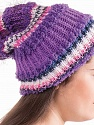 One skein is enough to make a hat. Please note that the ball weight information given for this yarn is approximate, and since the items are hand-made, slight color differences may occur. Fiber Content 40% Acrylic, 35% Micro Polyamide, 15% Polyester, 10% Wool, White, Purple, Lilac Shades, Brand ICE, Yarn Thickness 5 Bulky  Chunky, Craft, Rug, fnt2-32433