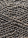 Fiber Content 70% Acrylic, 20% Wool, 10% Linen, Brand ICE, Grey, Yarn Thickness 4 Medium  Worsted, Afghan, Aran, fnt2-32437