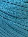 This is a tube-like yarn with soft cotton fleece filled inside. Fiber Content 70% Cotton, 30% Polyester, Light Blue, Brand ICE, Yarn Thickness 5 Bulky  Chunky, Craft, Rug, fnt2-32507