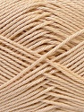 Fiber Content 100% Mercerised Cotton, Brand ICE, Beige, Yarn Thickness 2 Fine  Sport, Baby, fnt2-32536