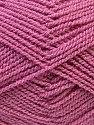 Fiber Content 94% Acrylic, 6% Lurex, Rose Pink, Rainbow, Brand ICE, Yarn Thickness 3 Light  DK, Light, Worsted, fnt2-33094