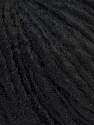 Fiber Content 70% Acrylic, 30% Wool, Brand ICE, Black, Yarn Thickness 4 Medium  Worsted, Afghan, Aran, fnt2-33894