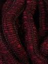 Fiber Content 90% Acrylic, 5% Polyamide, 5% Wool, Brand ICE, Burgundy, Yarn Thickness 6 SuperBulky  Bulky, Roving, fnt2-34053