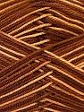 Fiber Content 100% Mercerised Cotton, Brand ICE, Brown Shades, Yarn Thickness 2 Fine  Sport, Baby, fnt2-34752