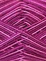 Fiber Content 100% Mercerised Cotton, Pink Shades, Maroon, Brand ICE, Yarn Thickness 2 Fine  Sport, Baby, fnt2-34759