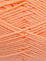 Fiber Content 50% Acrylic, 50% Polyamide, Light Salmon, Brand ICE, Yarn Thickness 2 Fine  Sport, Baby, fnt2-35003