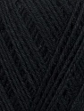 Fiber Content 100% Bamboo, Brand ICE, Black, Yarn Thickness 2 Fine  Sport, Baby, fnt2-35219