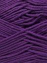 Fiber Content 100% Antibacterial Dralon, Purple, Brand ICE, Yarn Thickness 2 Fine  Sport, Baby, fnt2-35240