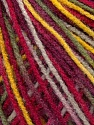 Fiber Content 100% Acrylic, Yellow, Red, Maroon, Khaki, Brand ICE, Yarn Thickness 2 Fine  Sport, Baby, fnt2-35659