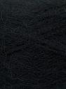 Fiber Content 70% Angora, 30% Acrylic, Brand ICE, Black, Yarn Thickness 2 Fine  Sport, Baby, fnt2-35667
