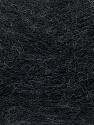 Fiber Content 70% Angora, 30% Acrylic, Brand ICE, Anthracite Black, Yarn Thickness 2 Fine  Sport, Baby, fnt2-35668