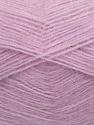 Fiber Content 70% Angora, 30% Acrylic, Light Lilac, Brand ICE, Yarn Thickness 2 Fine  Sport, Baby, fnt2-35680