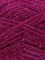 Fiber Content 60% Polyester, 40% Lurex, Brand ICE, Dark Fuchsia, Yarn Thickness 5 Bulky  Chunky, Craft, Rug, fnt2-35791