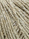 Fiber Content 60% Acrylic, 20% Wool, 10% Metallic Lurex, 10% Cotton, Silver, Brand ICE, Beige, fnt2-35953