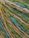 Fiber Content 40% Polyamide, 30% Acrylic, 20% Wool, 10% Viscose, Turquoise, Brand ICE, Green, Gold, Camel, fnt2-35969