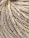 Fiber Content 50% Merino Wool, 25% Alpaca, 25% Acrylic, Brand ICE, Beige, fnt2-36061