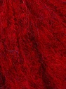 Fiber Content 28% Acrylic, 25% Mohair, 25% Wool, 22% Polyamide, Red, Brand ICE, Yarn Thickness 2 Fine  Sport, Baby, fnt2-36156
