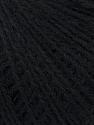 Fiber Content 50% Acrylic, 25% Alpaca, 25% Merino Wool, Brand ICE, Black, Yarn Thickness 2 Fine  Sport, Baby, fnt2-36196
