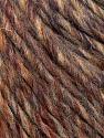 Fiber Content 50% Merino Wool, 25% Acrylic, 25% Alpaca, Brand ICE, Brown Shades, Yarn Thickness 5 Bulky  Chunky, Craft, Rug, fnt2-36199