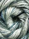 Fiber Content 70% Acrylic, 5% Lurex, 25% Angora, White, Brand ICE, Grey Shades, Yarn Thickness 2 Fine  Sport, Baby, fnt2-36284