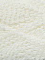Fiber Content 94% Premium Acrylic, 6% Lurex, White, Brand ICE, Yarn Thickness 2 Fine  Sport, Baby, fnt2-36302