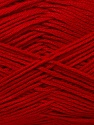 Fiber Content 100% Acrylic, Red, Brand ICE, Yarn Thickness 2 Fine  Sport, Baby, fnt2-36407