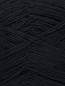 Fiber Content 78% Polyamide, 22% Acrylic, Brand ICE, Black, Yarn Thickness 2 Fine  Sport, Baby, fnt2-36416