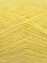 Fiber Content 70% Acrylic, 30% Angora, Light Yellow, Brand ICE, fnt2-36440