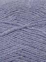 Fiber Content 70% Acrylic, 5% Lurex, 25% Angora, Silver, Lilac, Brand ICE, Yarn Thickness 2 Fine  Sport, Baby, fnt2-36561