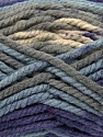Fiber Content 100% Acrylic, Purple, Light Blue, Brand ICE, Grey, Yarn Thickness 6 SuperBulky  Bulky, Roving, fnt2-36975