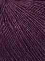 Fiber Content 50% Silk, 30% Merino Superfine, 20% Cashmere, Maroon, Brand ICE, Yarn Thickness 1 SuperFine  Sock, Fingering, Baby, fnt2-37022