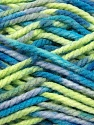 Fiber Content 100% Acrylic, Brand ICE, Grey, Green, Blue, Yarn Thickness 6 SuperBulky  Bulky, Roving, fnt2-37039