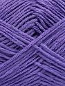 Fiber Content 65% Cotton, 35% Acrylic, Lavender, Brand ICE, Yarn Thickness 2 Fine  Sport, Baby, fnt2-37110