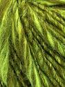Fiber Content 50% Acrylic, 30% Wool, 20% Alpaca, Neon Green, Brand ICE, Green Shades, fnt2-37565