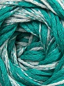 İçerik 64% Pamuk, 26% Viskon, 10% Polyamid, White, Brand ICE, Emerald Green, fnt2-37610