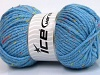 Wool Tweed Superbulky Light Blue