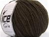Wool Worsted 50 Dark Brown