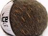 Alpaca Shine olivengrønn gull Mørk Brun