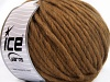 Pure Wool Superbulky Brun