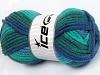 Elite Wool Superbulky grønn Shades Blåtoner