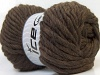 Pure Wool Superbulky Dark Brown