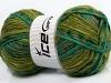 Mystique Turquoise Khaki Green Shades