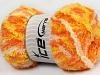 Puffy Yellow Orange Cream