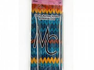 3.5 mm (US 4) Circular Knitting Needles. Length: 80 cm (32&). 3.5 mm (US 4) Brand SKC, Yarn Thickness Other, acs-68