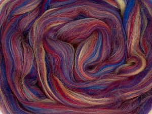 50gr-1.8m (1.76oz-1.97yards) 100% Wool felt Fiber Content 100% Wool, Rainbow, Yarn Thickness Other, Brand ICE, acs-985