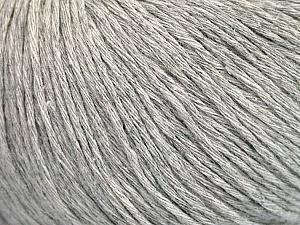 Fiber Content 100% Cotton, Light Grey, Brand ICE, Yarn Thickness 1 SuperFine  Sock, Fingering, Baby, fnt2-49961